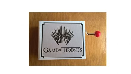 Game of Thrones Hand Cranked Music Box